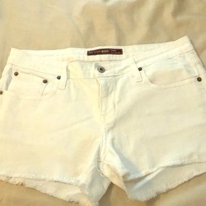 Big Star Jean shorts white